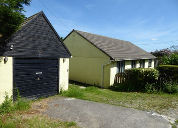 Thumbnail 3 bed detached bungalow for sale in Mill Lane, Camelford