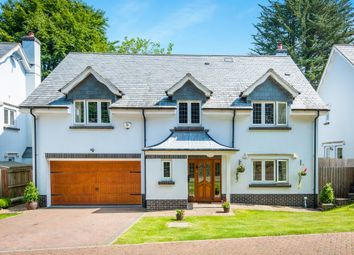 Thumbnail 4 bedroom detached house for sale in Clyst Hayes Gardens, Budleigh Salterton