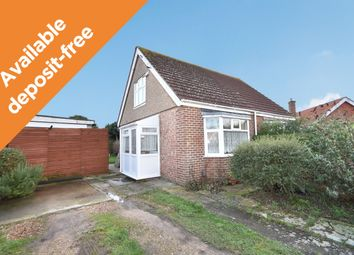 Thumbnail 2 bed semi-detached bungalow to rent in Sea Front Estate, Hayling Island