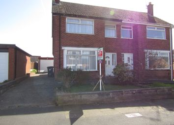 Thumbnail 3 bed semi-detached house to rent in Cranbrook Avenue, Blackpool