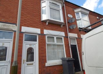 Thumbnail 2 bed terraced house to rent in Houghton Street, Leicester