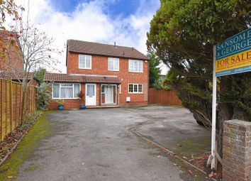 Thumbnail 4 bed detached house for sale in Reading Road, Burghfield Common, Reading