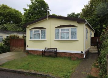Thumbnail 3 bedroom mobile/park home for sale in Surrey Hills Residential Park, Boxhill Road, Tadworth