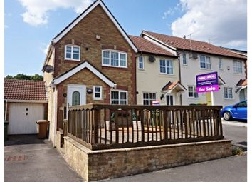 Thumbnail 3 bed end terrace house for sale in Ramson Close, Hengoed