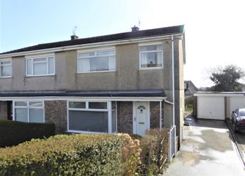 Thumbnail 3 bed semi-detached house for sale in Heol Mair, Litchard, Bridgend .