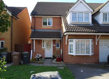 Thumbnail 3 bed semi-detached house to rent in Dunraven Avenue, Luton