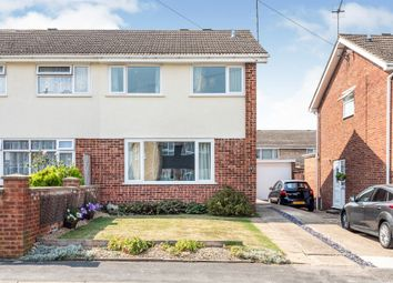 Thumbnail 3 bed semi-detached house for sale in Byron Crescent, Rushden