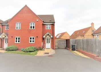 Thumbnail 3 bed semi-detached house for sale in Stillington Crescent, Hamilton, Leicester