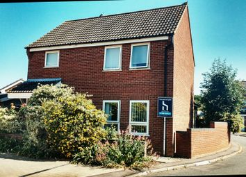 Thumbnail 3 bedroom detached house for sale in Robert Close, Wymondham