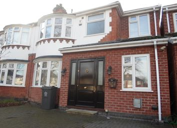 Thumbnail 4 bed semi-detached house for sale in Welford Road, Knighton