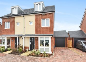 Thumbnail 3 bed semi-detached house for sale in Blue Hut Way, Beggarwood, Basingstoke
