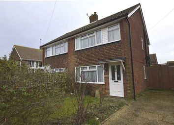 Thumbnail 2 bed semi-detached house for sale in Allen Way, Bexhill-On-Sea, East Sussex