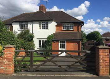 Thumbnail 4 bedroom semi-detached house for sale in Wycombe Road, Marlow
