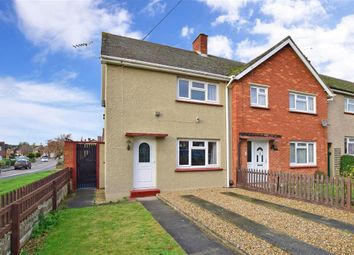 Thumbnail 2 bed semi-detached house for sale in Dene Holm Road, Northfleet, Gravesend, Kent