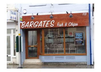 Thumbnail Restaurant/cafe to let in Bargates Fish & Chips, Christchurch