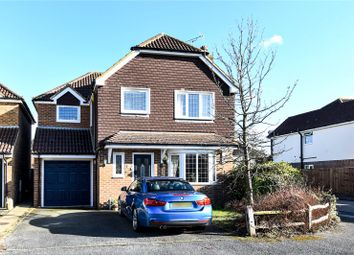 Thumbnail 4 bed detached house for sale in Springfields Close, Chertsey, Surrey