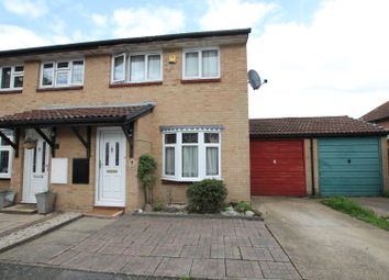 Thumbnail 3 bed semi-detached house for sale in Kirton Close, Hornchurch
