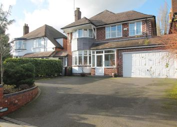 Thumbnail 4 bed link-detached house for sale in Manor Road, Solihull