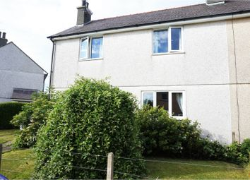 Thumbnail 3 bed semi-detached house for sale in Maes Y Plas, Llanfechell, Amlwch