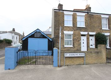 Thumbnail 2 bed end terrace house for sale in St Andrews Road, Deal