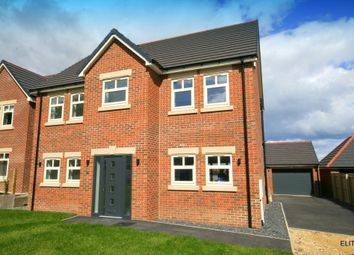 Thumbnail 5 bed detached house for sale in Stonelea Court, Easington, Peterlee