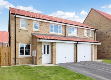 Thumbnail 3 bed semi-detached house for sale in Church Hill Terrace, Church Hill, Sherburn In Elmet, Leeds