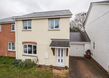 Thumbnail 3 bed end terrace house for sale in Bassetts Close, Copplestone, Crediton