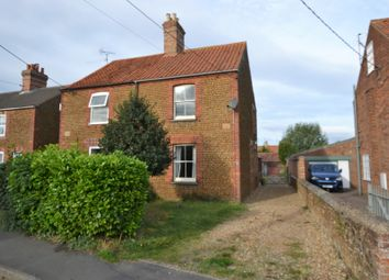 Thumbnail 3 bed semi-detached house for sale in High Street, Heacham, King's Lynn