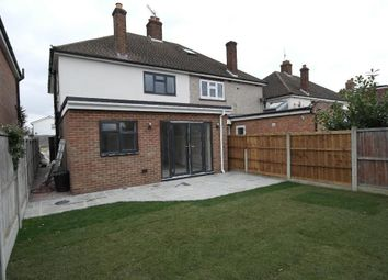 Thumbnail 3 bed semi-detached house for sale in Central Drive, Hornchurch, Essex