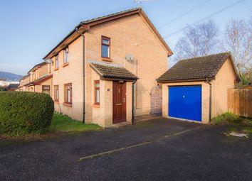 Thumbnail 2 bed semi-detached house for sale in Briardene, Llanfoist, Abergavenny