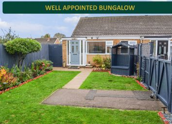 Thumbnail 1 bed bungalow for sale in Georgeham Close, Wigston, Leicester