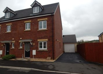 Thumbnail 4 bed semi-detached house to rent in Parc Panteg, Griffithstown, Pontypool