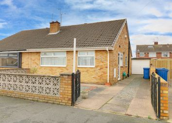 Thumbnail 2 bed semi-detached bungalow for sale in Loxley Green, Hull