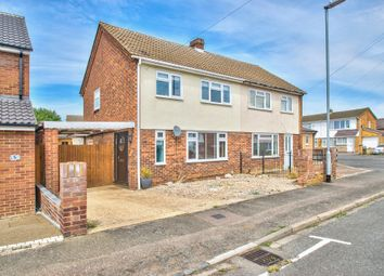 Thumbnail 3 bed semi-detached house for sale in Sunnybank, St. Neots