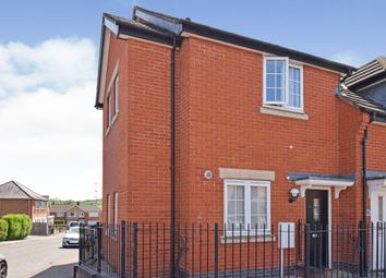 Thumbnail 3 bed town house for sale in Rosebery Road, Anstey, Leicester