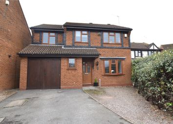 Thumbnail 4 bed detached house for sale in Washbrook Close, Wall Meadow, Worcester, Worcestershire