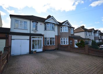 Thumbnail 4 bed semi-detached house for sale in Fairholme Avenue, Gidea Park, Romford, Essex