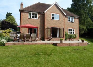 Thumbnail 5 bed detached house to rent in Tile Barn, Woolton Hill, Newbury