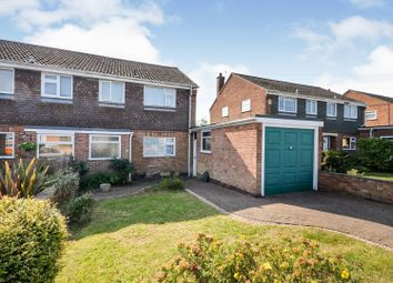Thumbnail 3 bed semi-detached house for sale in Hadfield Drive, Melton Mowbray