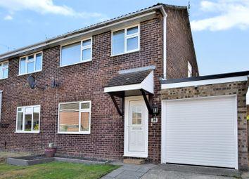 Thumbnail 3 bed semi-detached house for sale in Collard Road, Willesborough, Ashford