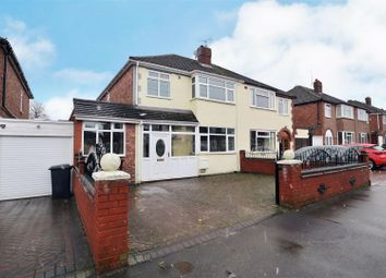 Thumbnail 3 bed semi-detached house for sale in Fairview Crescent, Wednesfield, Wolverhampton