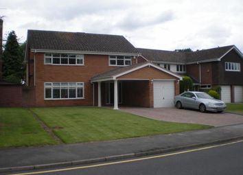Thumbnail 4 bedroom detached house to rent in Arley Road, Solihull