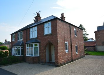 Thumbnail 3 bed semi-detached house to rent in Westgate, Southwell