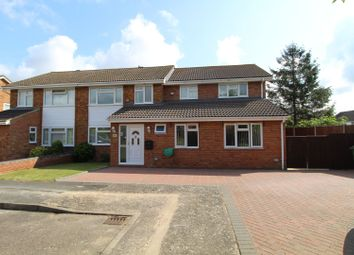 Thumbnail 4 bed semi-detached house for sale in Temple Close, Milton Keynes