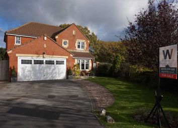 Thumbnail 4 bed detached house for sale in Ryding Close, Farington Moss, Leyland