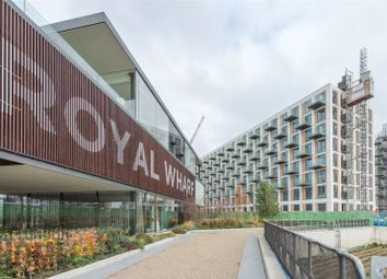 Thumbnail 2 bed flat for sale in Thameside House, Royal Wharf, Royal Docks, London