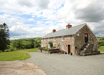 Thumbnail 4 bed detached house for sale in Merthyr Cynog, Brecon, Powys