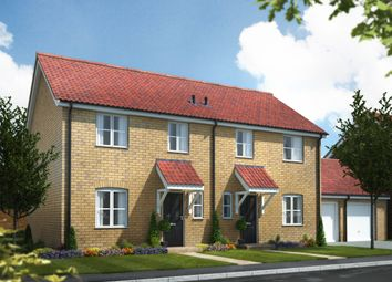 Thumbnail 3 bed semi-detached house for sale in The Langrick, Norwich Road, Watton