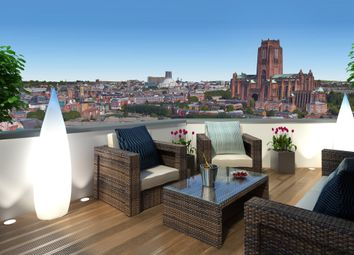 Thumbnail 1 bed flat for sale in Parliament Street, Liverpool