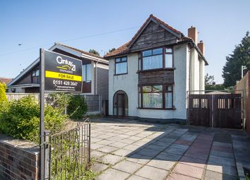 Thumbnail 3 bed detached house for sale in Higher Road, Halewood L261Un